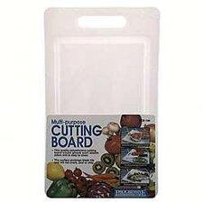 """18"""" x 12"""" Cutting Board in White"""