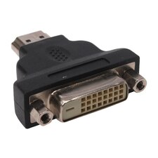 Model ADT-HDMIM HDMI to DVI Adapter HDMI /Male(19 PINS) DVI/Female(24+1PINS)