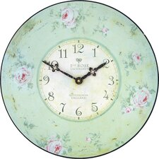"Nottingham Lacemaker""s Rose Wall Clock"
