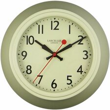 Metal Wall Clock with Lascelles Dial