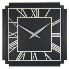 1930's Art Deco Square Wall Clock