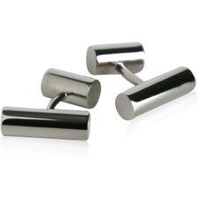 Post Cufflinks in Titanium