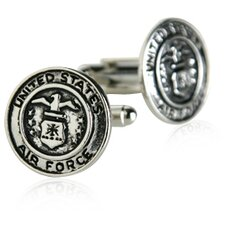 US Air Force Cufflinks in Silver