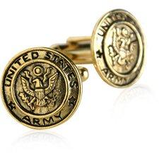 US Army Cufflinks in Gold