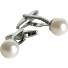 Formal Set in White Cultured Pearl with Swarovski Elements