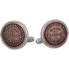 <strong>Cuff-Daddy</strong> The Federal Union Cufflinks