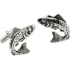 Trout Fish Cufflinks