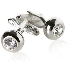 <strong>Cuff-Daddy</strong> Crystal Stud Cufflinks