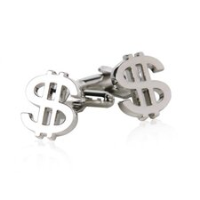 Unique Dollar Sign Cufflinks