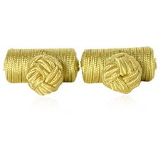 Knots Cufflinks in Yellow