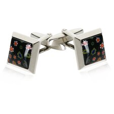 <strong>Cuff-Daddy</strong> Venetian Cufflinks in Black