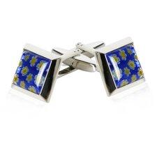 Italian Cufflinks in Blue