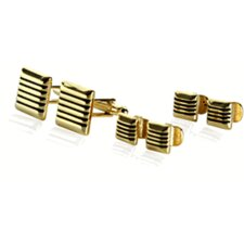 14 Karat Gold Cufflinks and Studs Set