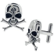 Skull Crossbones Cufflinks