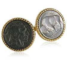 <strong>Cuff-Daddy</strong> Buffalo Nickel Cufflinks