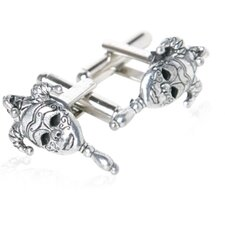 <strong>Cuff-Daddy</strong> New Orleans Mask Cufflinks