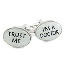 Trust Me Doctor Cufflinks