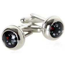 Functional Compass Cufflinks