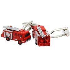 Fire Engine Fireman Cufflinks