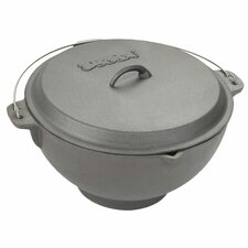 <strong>Bayou Classic</strong> 2.75 Gallon Cast Iron Deep Fryer with Jambalaya Pot