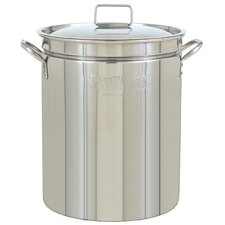 <strong>Bayou Classic</strong> Stainless Steel All-Purpose Stockpot with Lid
