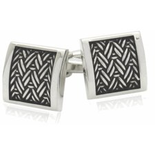 Austrian Urban Herringbone Cufflinks (Set of 2)