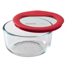 Premium Glass Lids Round Storage Dish