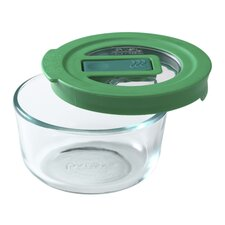 No Leak Lids™ 1-Cup Round Storage Bowl