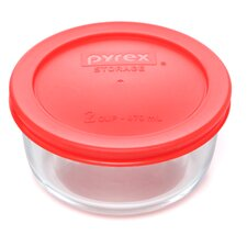 2 Cup Round Storage Container