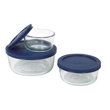 <strong>Pyrex</strong> 6 Piece Storage Plus Set