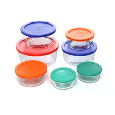 <strong>Pyrex</strong> Storage Plus 14 Piece Storage Dish Set