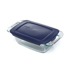 <strong>Pyrex</strong> Easy Grab 1.5 Qt. Loaf Dish with Plastic Cover