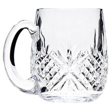<strong>Godinger Silver Art Co</strong> Dublin Crystal Beer Mug (Set of 2)