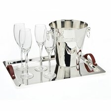 6 Piece Champagne Set