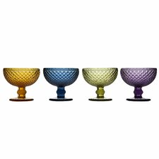 <strong>Godinger Silver Art Co</strong> Belmont Dessert Bowl (Set of 4)