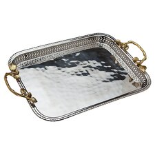 "<strong>Godinger Silver Art Co</strong> Arboria 16"" Tray"
