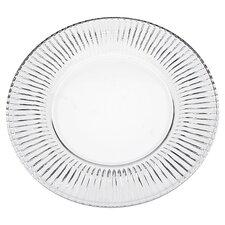 "Feu 10.8"" Crystal Dessert Plate (Set of 4)"