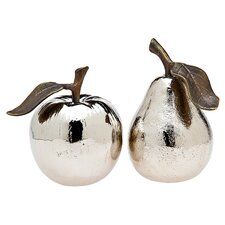 <strong>Godinger Silver Art Co</strong> 2 Piece Harvest Salt and Pepper Shaker Set