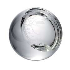 Crystal Speedometer Paperweight