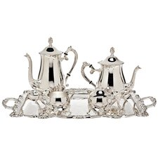 <strong>Godinger Silver Art Co</strong> 5 Piece Wellspring Coffee Set