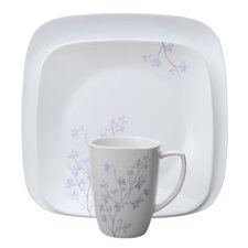 Square™ Jacaranda 16 Piece Dinnerware Set