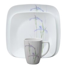 <strong>Corelle</strong> Shadow Iris Square 16 Piece Dinnerware Set