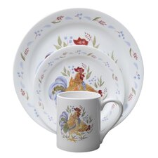 <strong>Corelle</strong> Impressions Country Morn 16 Piece Dinnerware Set