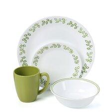 Livingware Neo Leaf 16 Piece Dinnerware Set