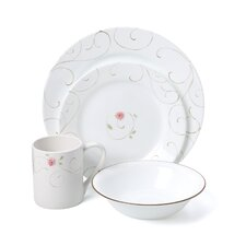 Impressions Enchanted 16 Piece Dinnerware Set