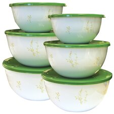 Coordinates 6 Piece Bowl Set with Kobe Design