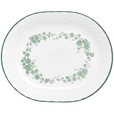 "Impressions Callaway 12.25"" Oval Serving Platter"