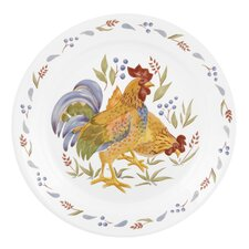 "Impressions Country Morn 10.25"" Dinner Plate"
