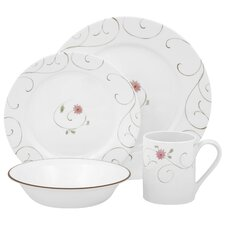 <strong>Corelle</strong> Impressions Enchanted 16 Piece Dinnerware Set