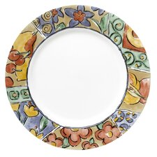 "Impressions 10.75""Watercolors Dinner Plate"